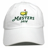 2014 Masters Stacked Logo White Hat NEW STYLE!