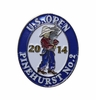 2014 US Open Label Pin