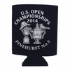 2014 US Open Single Koozie- Black