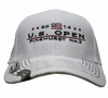 2014 US Open Straightline White Performance Hat- Magnetic Bill Includes Green 2014 US OPEN Ballmarker