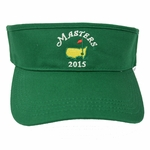 2015 Dated Masters Low Rider Visor in Green