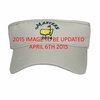 2015 Dated Masters Low Rider Visor in Stone