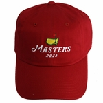 2015 Masters Red Caddy Hat