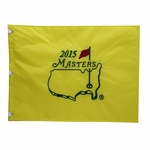 2015 Masters Embroidered Golf Pin Flag - Jordan Spieth, Champion!