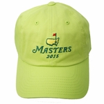2015 Masters Lime Green Caddy Hat