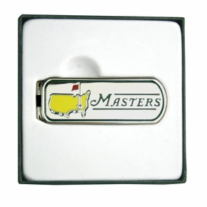 Undated Masters Money Clip New for 2015 - 2015 Masters Merchandise