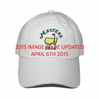 2015 Masters White Caddy Hat