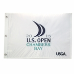 2015 US Open Chambers Bay Embroidered Pin Flag
