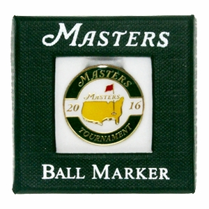 2016 Masters Ball Marker