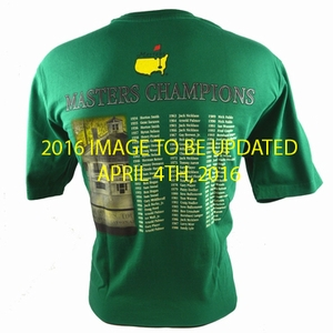 2016 Masters Champions T-Shirt - Green
