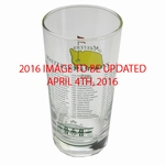 2016 Masters Commemorative Glass - Masters Golf Collectibles
