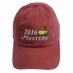 2016 Masters Coral Caddy Hat