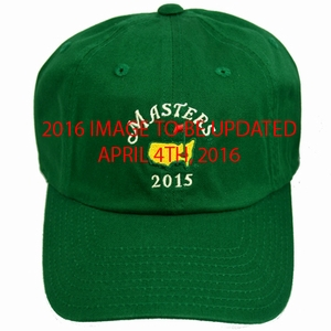 2016 Masters Green Caddy Hat
