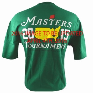 2016 Masters Green Small Logo T-Shirt