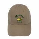 2016 Masters Khaki Caddy Hat