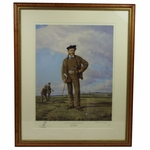 Lot 51 - Young Tom Morris Painting- Limited Number 173/350- Framed