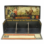 Lot 52 - Vintage Bruner Woolens Display Fold-Out Box with Multiple Colored Golf Scenes