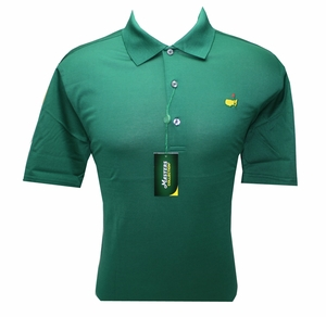 Masters Jersey Green Golf Shirt