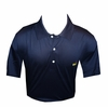 Masters Jersey Navy Blue Golf Shirt