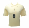 Masters Jersey Yellow Golfshirt - Large & XL ONLY!
