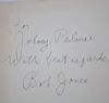 Lot 421 - Bobby Jones Signed 'Golf Is My Game' Book to Fellow Golfer Johnny Palmer JSA COA