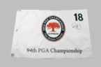 Assorted Autographed Golf Pin Flags