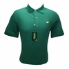 Masters Pique Green Golf Shirt