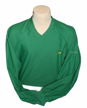 Augusta National Brand Masters V-Neck Windshirt  - Medium Only