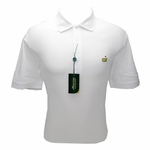 Masters Pique White Golf Shirt