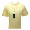 Masters Pique Yellow Golf Shirt