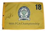 Autographed Golf Pin Flags