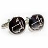 Lot 63 -Tiffany Sterling Silver Augusta National Members Cufflinks