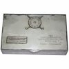 Lot 55 - 1952 All America's Cup Sterling Silver Cigar Box-Frank Stranahan Collection