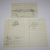 Lot 458 - Lot of 3: Original Sketch by Robert Trent Jones, Sr.