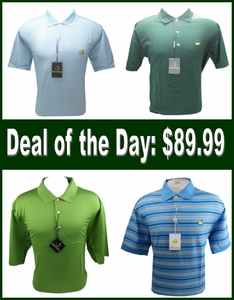 Masters Polo Shirt - Choose 1 of 4