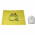 2014 Masters Embroidered Pin Flag and 2014 White Caddy Hat