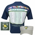 Masers Champions T-Shirt, 2014 Masters Ball Marker and Masters 2014 Dated Visor
