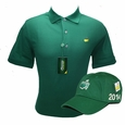 Masters Green Golf Shirt With Free 2014 Green Side Logo Hat