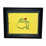 2012 Embroidered Masters Pin Flag - Framed