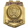 Lot 452 - Walker Cup Team Money Clip Team Issued to David Eger