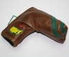 Lot 479 - Augusta National Members Brown Leather Putter Cover