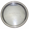 Lot 45 - 1948 North and South Open Championship-Frank Stranahan's Sterling 2nd Amateur Tray