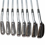 Lot 1 - Jack Fleck's 1955 US Open Win-Match Used Ben Hogan Precision 2-9 Irons