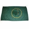 "Lot 11 - Original Flag Flown at Augusta National - Gifted By Phil Wahl (GM ANGC) - Huge 100"" x 60""!"