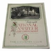 """Lot 13 - 1934 US Amateur Program at The Country Club - Lawson Little """"Little Slam"""" Victory"""