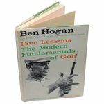 Lot 14 - Ben Hogan Signed 1st Edition Book 'Five Lessons: The Fundamentals of Golf' JSA COA