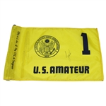 Lot 14 - Tiger Woods Signed 1994 US Amateur Championship Flag JSA ALOA