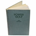 Lot 15 - Ben Hogan Signed 1st Edition 1948 Book 'Power Golf' JSA COA