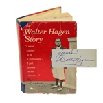 Lot 16 - Walter Hagen Signed and Inscribed 'The Walter Hagen Story' Book JSA ALOA