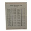Lot 17 - 1952 Masters Sunday Pairing Sheet Sam Snead Victory